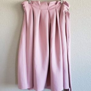 Asos | Tie Waist Midi Skirt NWT